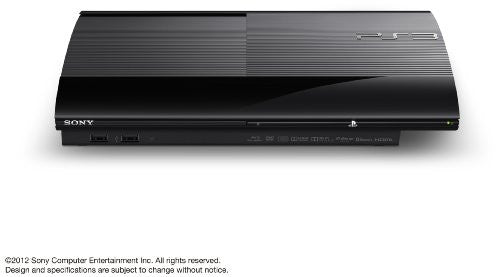 Image 3 for PlayStation3 New Slim Console (250GB Charcoal Black Model) - 110V