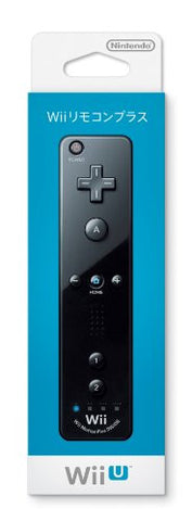 Image for Wii Remote Plus Control (Black)