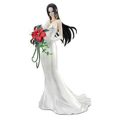 Image 1 for One Piece - Boa Hancock - Portrait Of Pirates Limited Edition - Excellent Model - 1/8 - Wedding Ver. (MegaHouse)