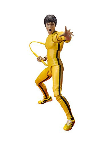 Image 1 for Game of Death - Bruce Lee - S.H.Figuarts - Yellow Track Suit (Bandai)