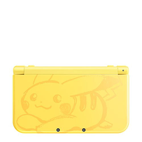 Image 6 for New Nintendo 3DS LL Pikachu Yellow - Pokemon Moon Set (incl. Pouch)