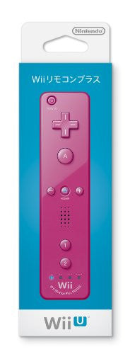 Image 1 for Wii Remote Plus Control (Pink)