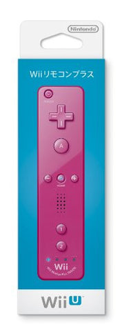 Image for Wii Remote Plus Control (Pink)