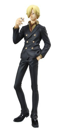 "Image 1 for One Piece - Sanji - Excellent Model - Portrait Of Pirates ""Sailing Again"" - 1/8 - Timeskip (MegaHouse)"