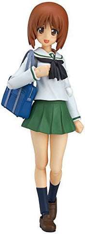 Image for Girls und Panzer - Nishizumi Miho - Figma #277 - School Uniform ver. (Max Factory)