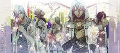 Amnesia Later - Ikki - Kent - Shin - Toma - Ukyou - Towel (Enterbrain)