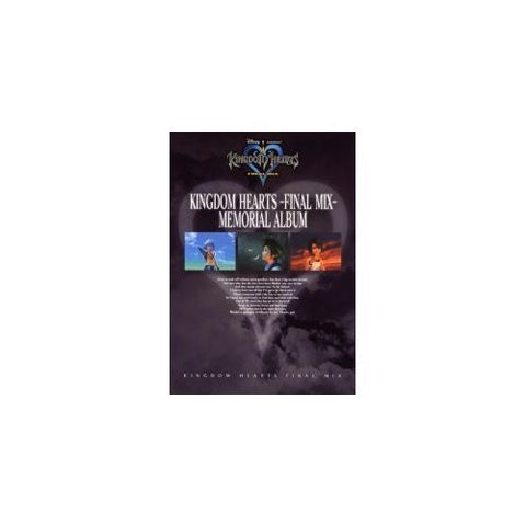 Kingdom Hearts Final Mix Memorial Album Book/ Ps2