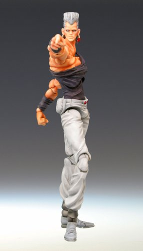 Image 2 for Jojo no Kimyou na Bouken - Stardust Crusaders - Jean Pierre Polnareff - Super Action Statue #4 (Medicos Entertainment)