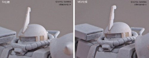 Image 4 for Kidou Senshi Gundam - MS-06R-1A Zaku II High Mobility Type - HGUC #151 - 1/144 - Black Tri-Stars Version (Bandai)