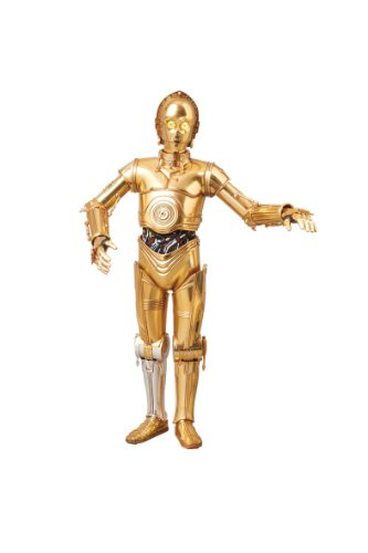 Image 1 for Star Wars - C-3PO - Real Action Heroes - RAH580 - 1/6 - Talking Ver. (Medicom Toy)