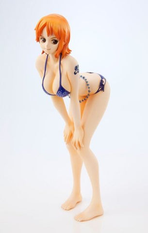 One Piece - Nami - Portrait Of Pirates Limited Edition - Excellent Model - 1/8 - Swimsuit Blue