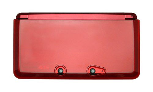 Image 3 for TPU Body Cover 3DS (clear red)