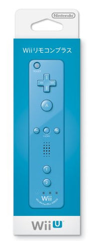 Image for Wii Remote Plus Control (Blue)