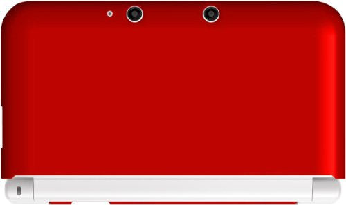 Image 1 for Body Cover for 3DS LL (Passion Red)