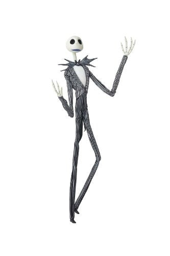 Image 1 for The Nightmare Before Christmas - Jack Skellington - Miracle Action Figure #45 - 1/1 (Medicom Toy)