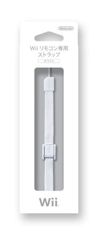 Image for Wii Remote Control Strap (White)