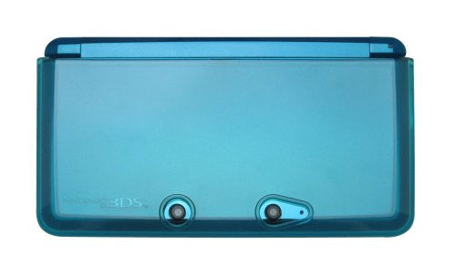 Image 3 for TPU Body Cover 3DS (clear blue)