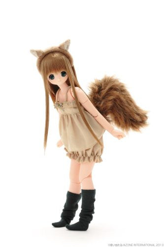 Image 11 for Chiika - Ex☆Cute 9th Series - PureNeemo - 1/6 - Komorebimori no Doubutsutachi ♪, Squirrel (Azone)