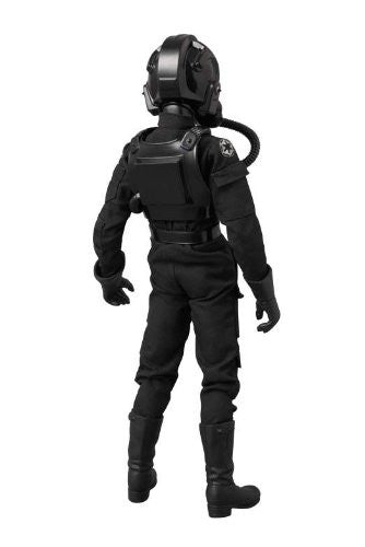 "Image 3 for Star Wars - TIE Fighter Pilot - Real Action Heroes #631 - 1/6 - Black 3 ""Backstabber"" (Medicom Toy)"