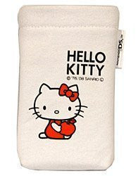 Hello Kitty Pocket Pouch (White)