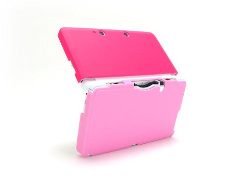 Image 4 for Palette Rubber Hardcover for 3DS (Rose Pink)