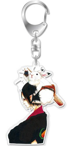 Image 1 for Hoozuki no Reitetsu - Hoozuki - Karashi - Hoozuki no Reitetsu Acrylic Keychain Tankobon Cover Collection - Keyholder (empty)