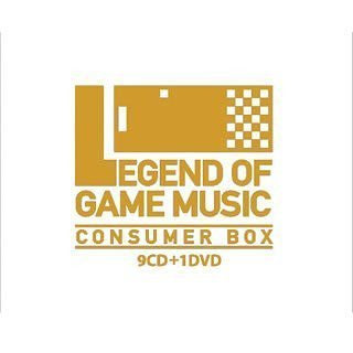 Image 1 for LEGEND OF GAME MUSIC CONSUMER BOX