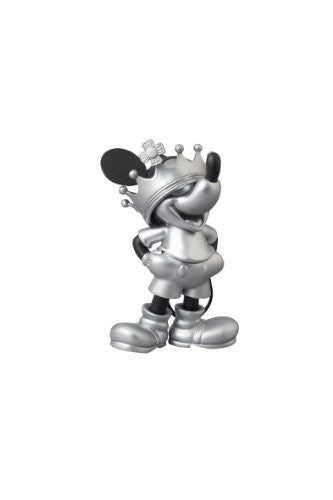 Image 1 for Mickey Mouse - Ultra Detail Figure - Roen Collection - 163 - Black and Silver ver. Crown ver. (Medicom Toy)