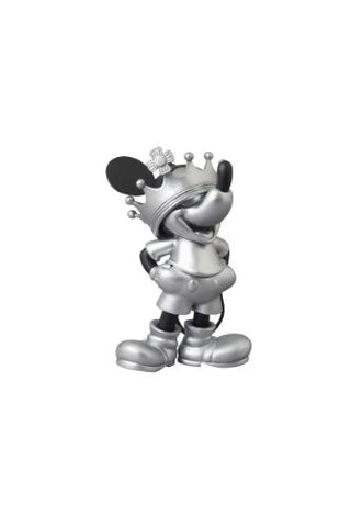 Image for Mickey Mouse - Ultra Detail Figure - Roen Collection - 163 - Black and Silver ver. Crown ver. (Medicom Toy)