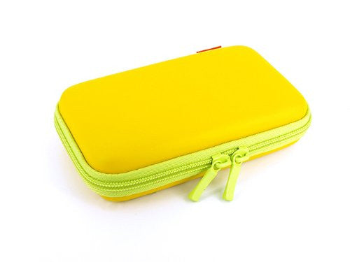 Image 3 for Palette Semi Hard Pouch for 3DS (Yellow Leaf)