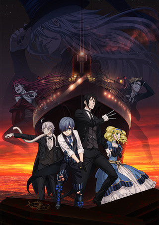 Image 1 for Gekijouban Kuroshitsuji ~Book of the Atlantic~ DVD - Aniplex Limited Edition