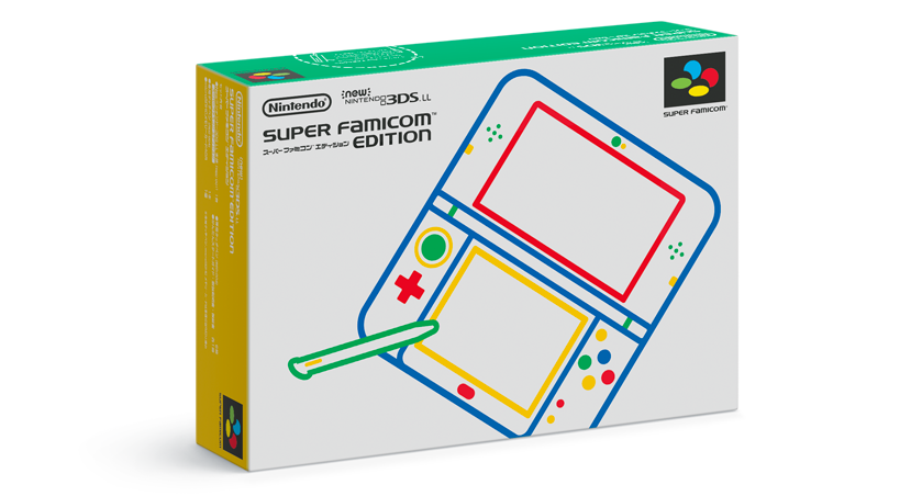 Image 2 for New Nintendo 3DS LL Super Famicom Edition [Limited Edition]