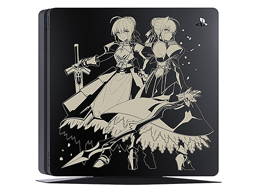 Image 1 for PlayStation 4 Fate/EXTELLA Edition Jet Black 1TB (CUH-2000BB01/FT)