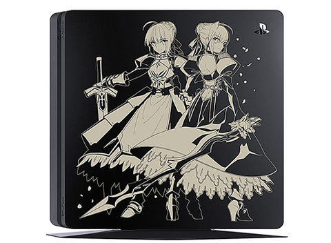 Image for PlayStation 4 Fate/EXTELLA Edition Jet Black 1TB (CUH-2000BB01/FT)