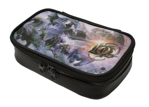 Image 2 for Monster Hunter 10th Anniversary Pouch for 3DS LL (Full color)