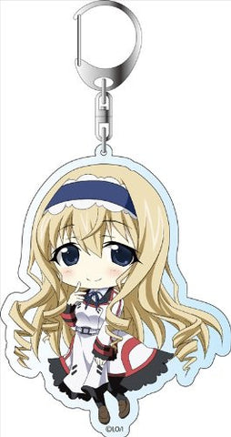 Image for IS: Infinite Stratos 2 - Cecilia Alcott - Deka Keyholder - Keyholder (Contents Seed)