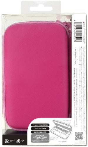 Image 2 for Palette Semi Hard Pouch for 3DS (Rose Pink)