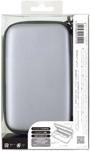 Image 2 for Palette Semi Hard Pouch for 3DS (Light Silver)