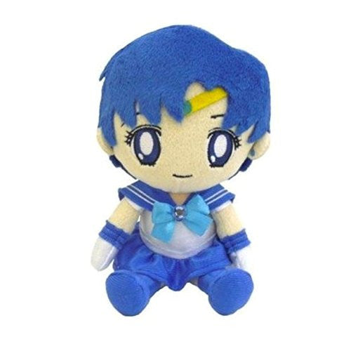 Image 1 for Bishoujo Senshi Sailor Moon - Sailor Mercury - Mini Cushion - Sailor Moon Mini Plush Cushion (Bandai)