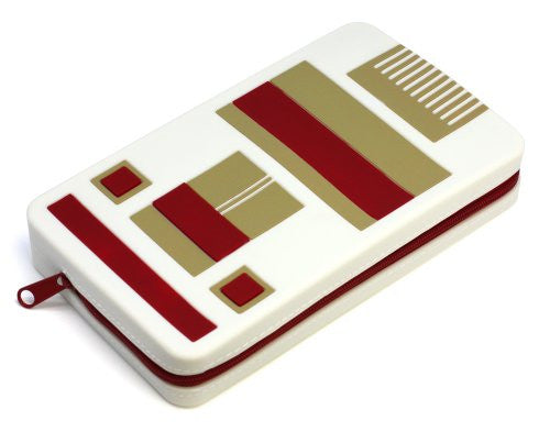 Image 2 for Retro Silicone Pouch for 3DS LL (FC White)