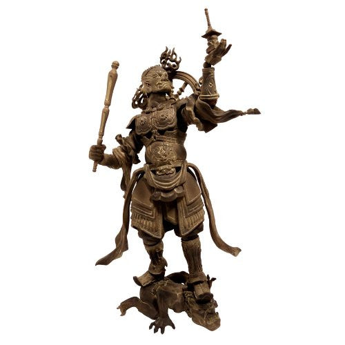 Image 1 for Tamon-ten - Revoltech - Revoltech Takeya - 01EX - Wood Ver. (Kaiyodo)