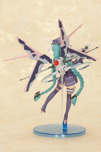Image 4 for Original Character - Sukumizu Mecha Nurse Shoujo Nana - 1/8 - Dark Mint Berry ver. (Orchid Seed)