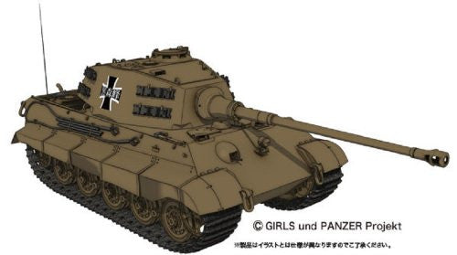 Image 1 for Girls und Panzer - Tiger II - 1/35 - Kuromorimine Girls High School Ver. (Platz)