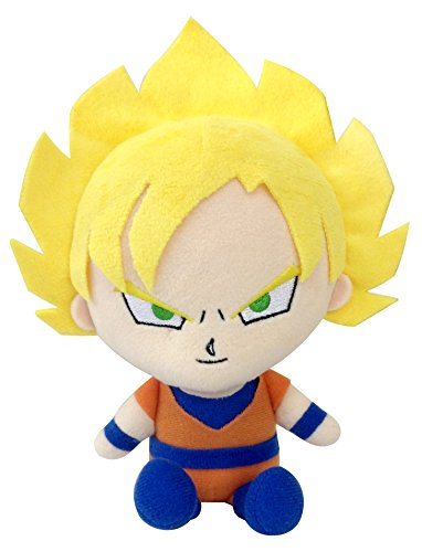 Image 1 for Dragon Ball Z - Son Goku SSJ2 - Dragon Ball Z Mini Plush Cushion - Mini Cushion (Bandai)