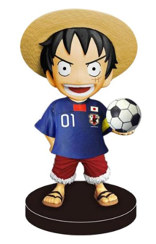 Image 1 for One Piece - Monkey D. Luffy - Bobblehead - Japan National Football Team Ver. (Plex)