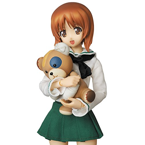 Image 8 for Girls und Panzer - Nishizumi Miho - Real Action Heroes #682 - 1/6 (Medicom Toy)