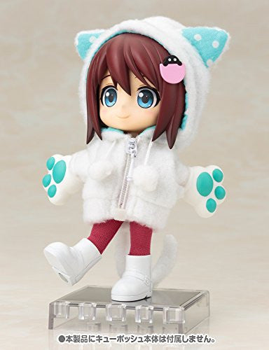 Image 5 for Cu-Poche - Cu-Poche Extra - Animal Parka Set - White Cat (Kotobukiya, Noix de Rome)