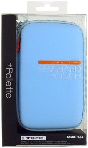 Image 1 for Palette Semi Hard Pouch for 3DS (Sky Blue)