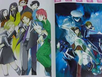 Image 8 for Persona Tribute Illustrations Anthology Art Book