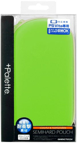 Image 1 for +Palette Semi Hard Pouch for PS Vita (Lime Green)